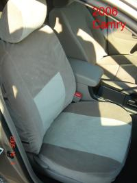 2005 2006 Toyota Camry Front And Back Seat Set Front