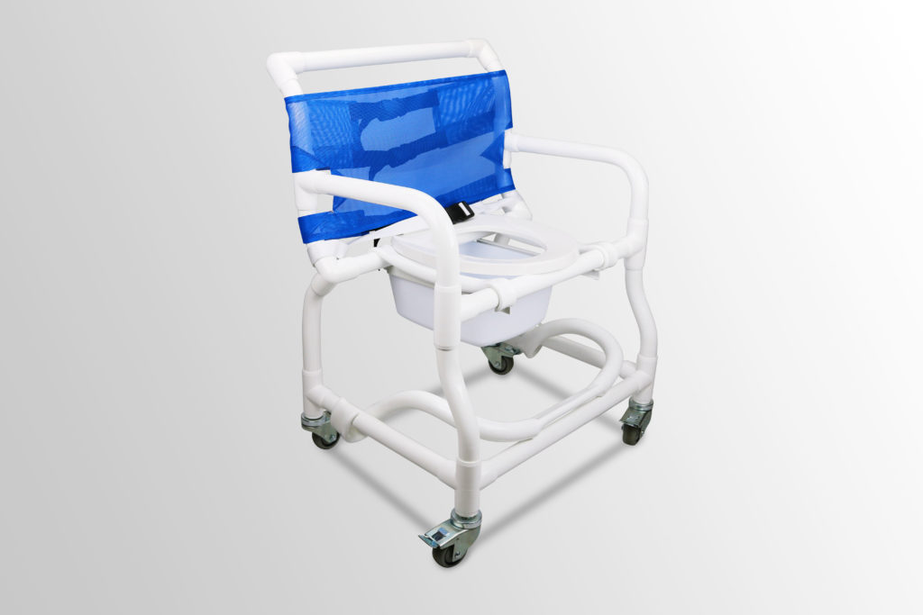 300 Ex Extra Wide Deluxe Shower Commode Chair Duralife