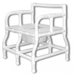 125-BEX Bariatric Bedside Commode Chair