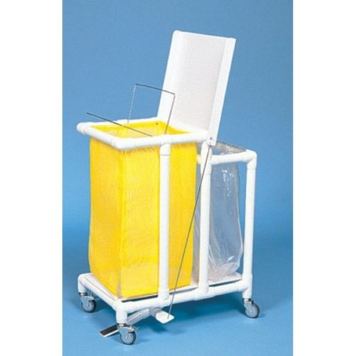 Footpedal hamper waste collection combo-600x600