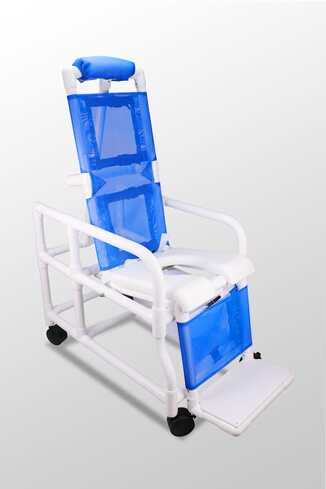 duralife 2001 tilt in space shower commode chair