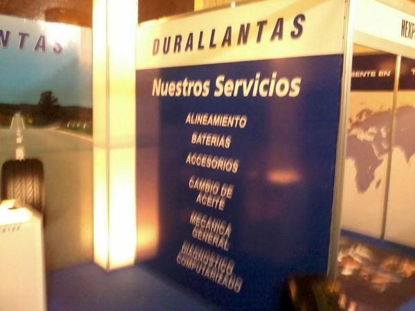 Durallantas en la Latin Tyre Expo 2012