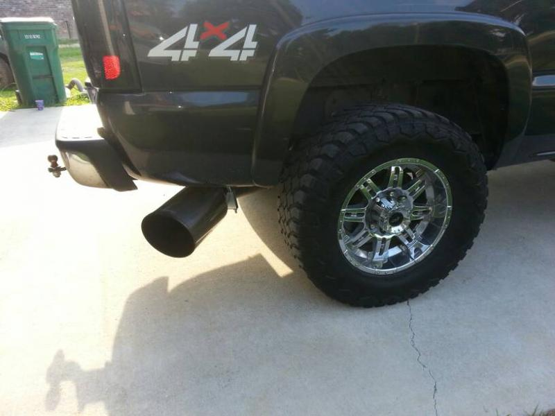 5 inch exhaust with 7 inch tip