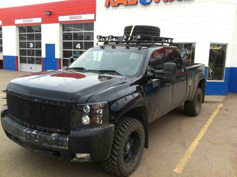 roof rack on lmm chevy and gmc