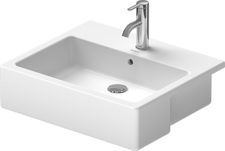 vero semi recessed washbasin 031455