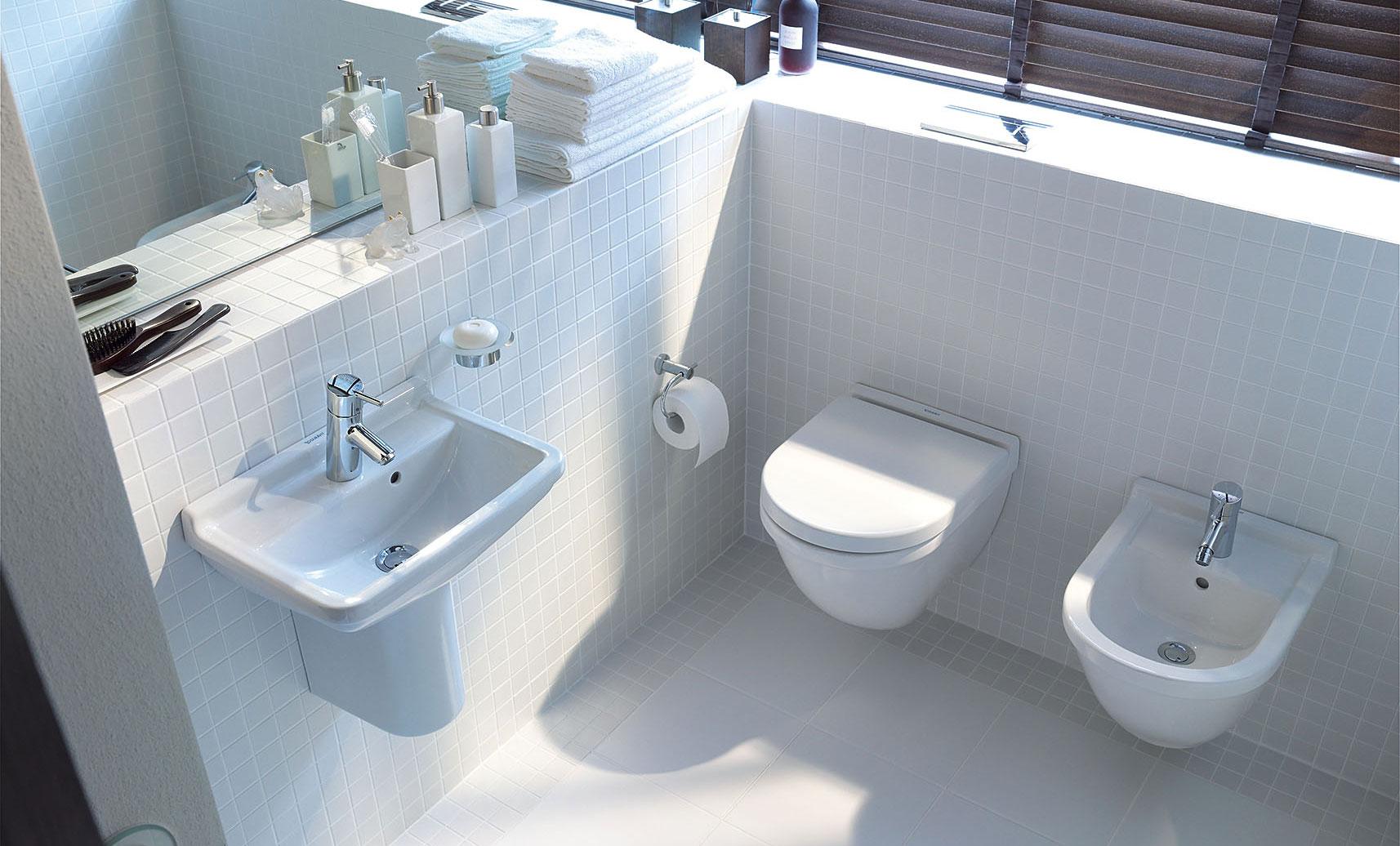 petits espaces toilettes idees pour