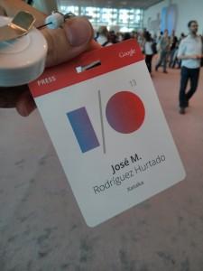 acreditación Google IO 2013
