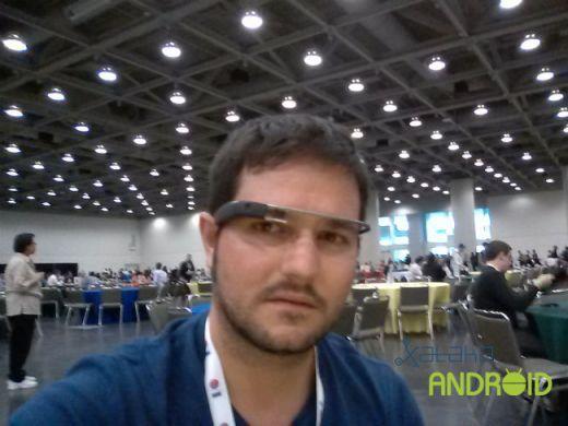 Txema con Google Glass