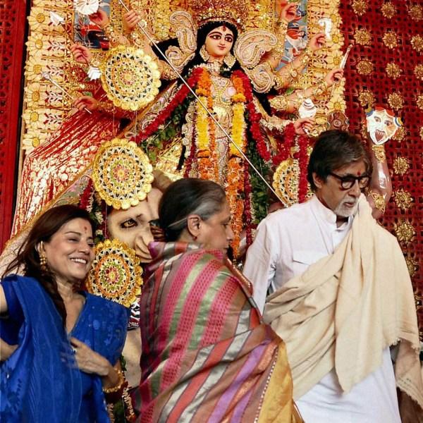Amitav Bacchan durga puja Mumbai