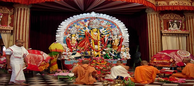Durga Puja Date Timing in Belur Math