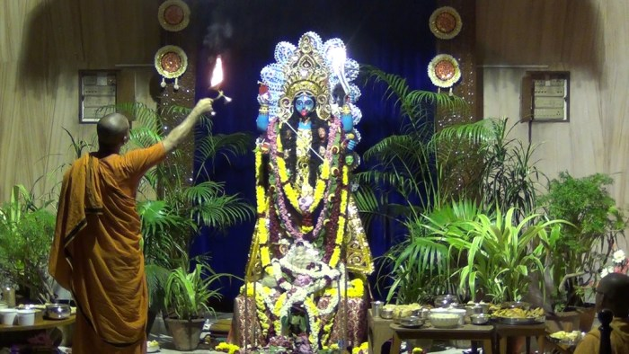 Kali Puja in Sri Ramakrishna Math