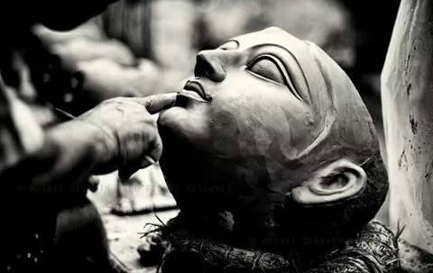 Kumartuli Idol Making Process