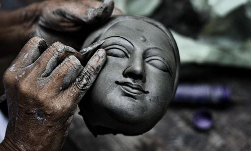 Kumartuli Journey of the Grand Festivities Durga Puja