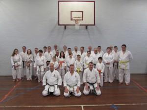 Sensei Peter Manning and Sensei John Euden Course November 2015
