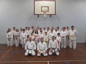 Sensei Peter Manning and Sensei John Euden Course November 2015