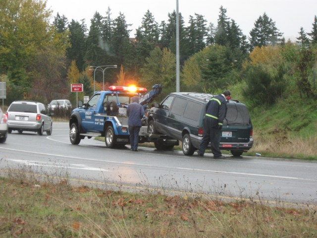 Towing Service on Side of Road