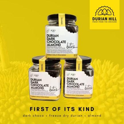 Durian Dark Chocolate Almond KOKO et kace
