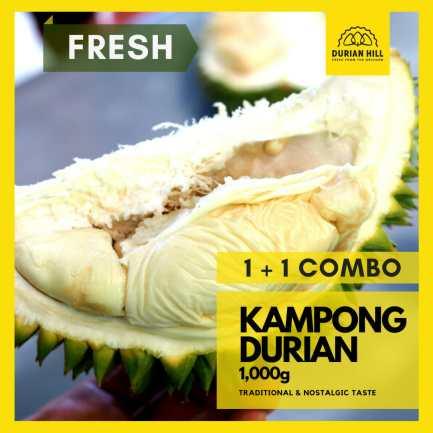 Fresh 1+1 MSK (300g) + Kampong Durian (1kg) COMBO 【Packed】