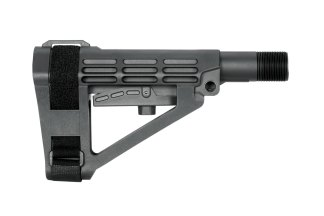 SBA4 Pistol Stabilizing Brace Collapsible AR-15 Black