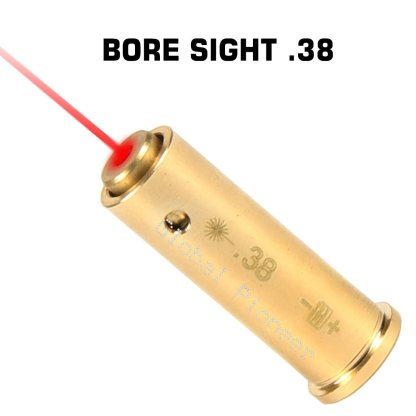 38 Special Pistol Cartridge Laser Bore Sighter