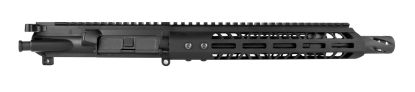 "AR-15 Complete Upper Assembly, 10.5"" 4150 Parkerized Heavy Barrel, .450 Bushmaster, Carbine Length Gas System, 1-24 Twist w: 10"" MLOK Rail"