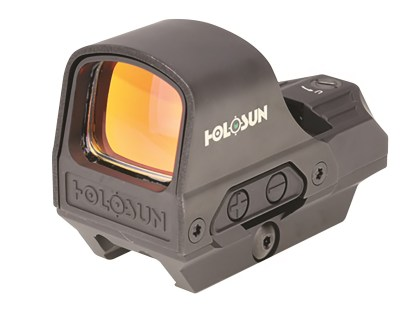 Holosun HE510C-GR Elite Reflex Sight 1x Selectable Green Reticle Picatinny-Style Quick-Release Mount Solar-Battery Powered Matte