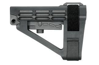 SB Tactical SBA4 Pistol Stabilizing Brace - Black | No Tube | Bulk Packaging for OEM Use