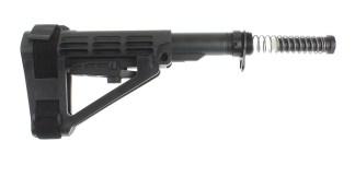 SB Tactical SBA4 Adjustable Pistol Brace + Mil-Spec Buffer Tube