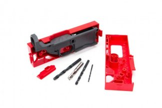Polymer80, 308 80% Lower Receiver and Jig System - Black Kit