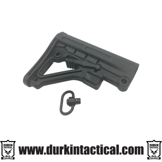 Mil-Spec Adjustable Stock - Black