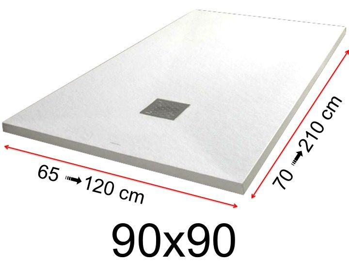 duschwanne 90x90 cm 900x900 mm