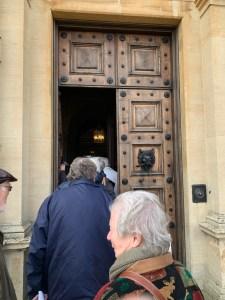 Highclere Castle Door