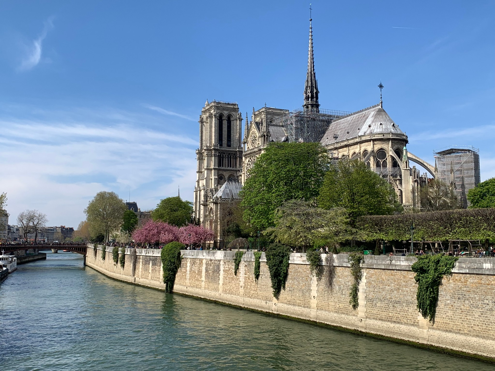 Notre Dame from bridge