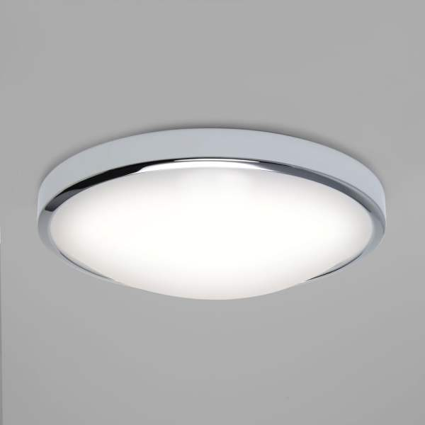 Astro Lighting 7831 Osaka Chrome LED Bathroom Ceiling Light Osaka Chrome LED Bathroom Ceiling Light