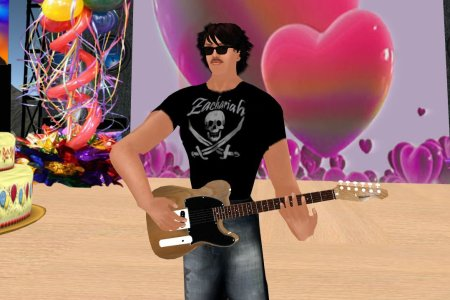 Zachariah Loon AKA Daddy Love, playing in Second Life