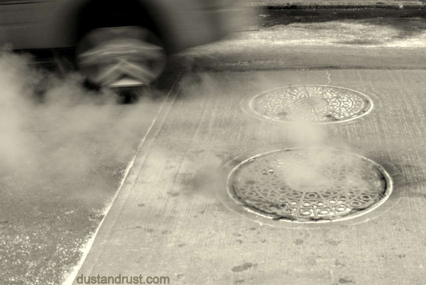 Manhole plus steam