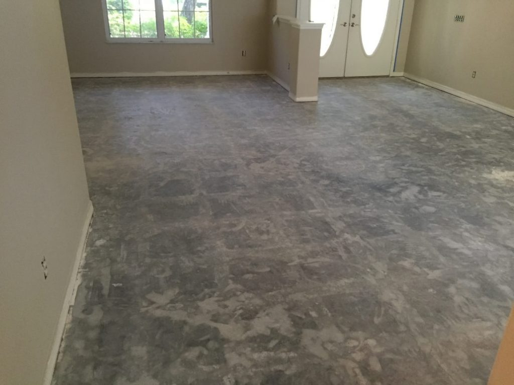 dust free floor and tile removal