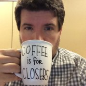 Dustin Christian likes coffee