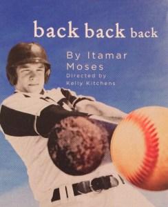 back back back poster