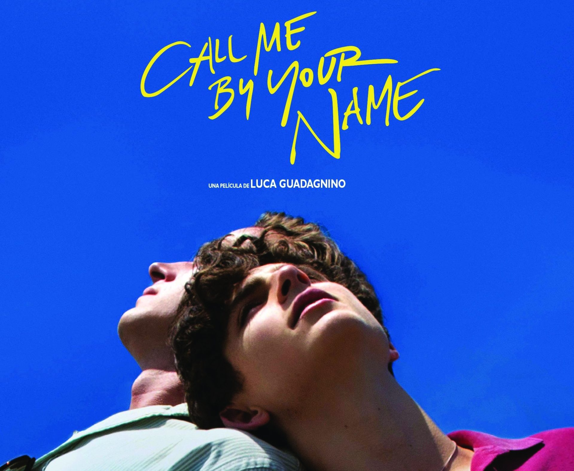 call me by your name affiche