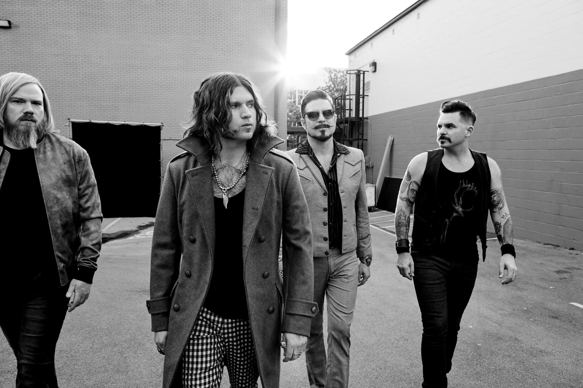 Rival Sons black white