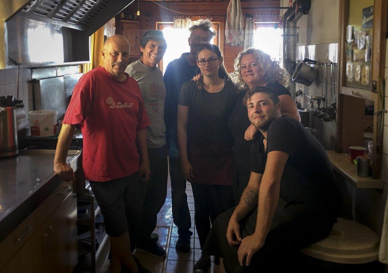 Anne in der Küche