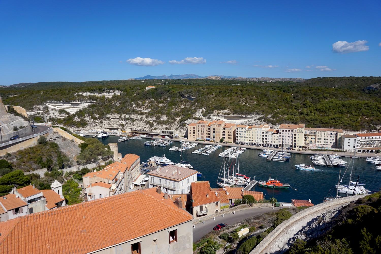 Bonifacio le port la citadelle blog voyage road trip
