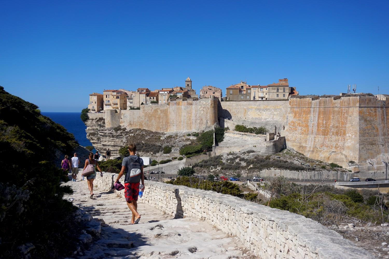 Bonifacio le port la citadelle blog voyage road trip03