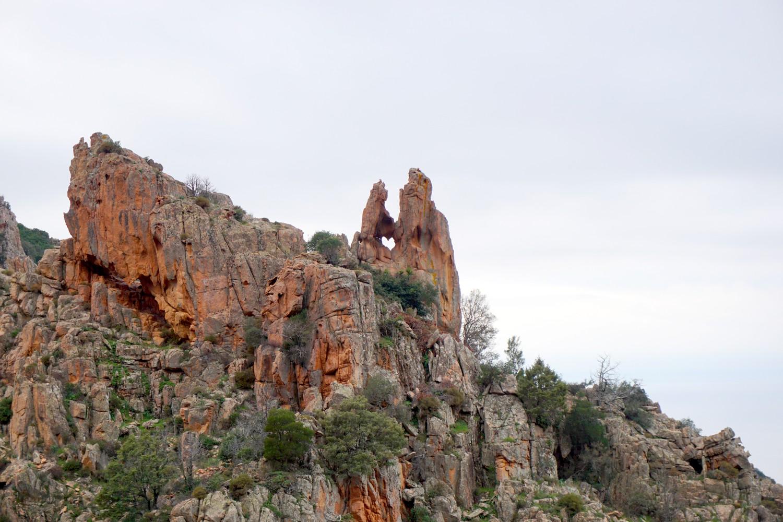 Calanques de piana golfe de porto blog voyage road trip corse le rocher des amoureux 03
