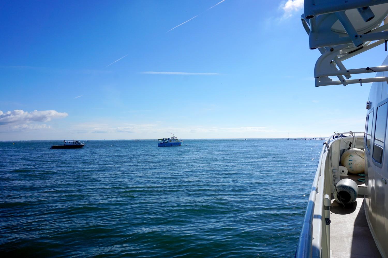 arcachon cap ferret sortie en mer promenade en bateau blog voyage