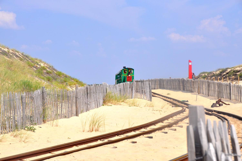 petit train bélisaire cap ferret blog voyage océan tourisme 02
