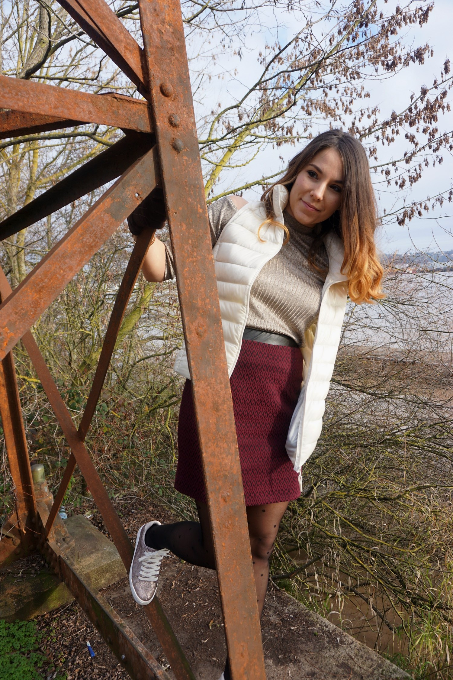 LOOK CHIC DECONTRACTE BORDEAUX PONT CHABAN DELMAS BLOG MODE LIFESTYLE UNIQLO LONGCHAMPS NAF NAF 0