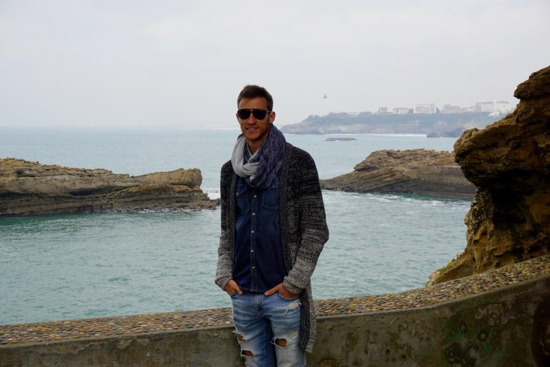 POINTE DE L'ATALAYE & ROCHER DE LA VIERGE BIARRITZ BLOG TOURISME VOYAGE FRANCE COUPLE BORDEAUX 15