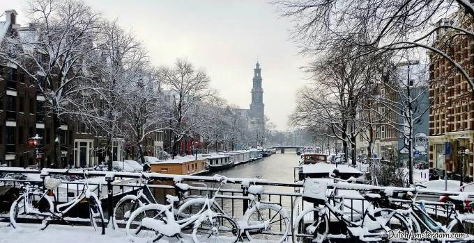snow in amsterdam